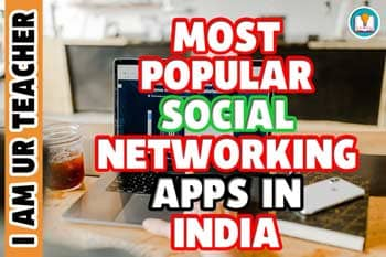 Most popular social networking apps in India