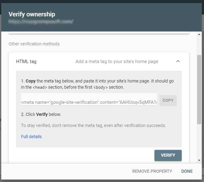 html verification