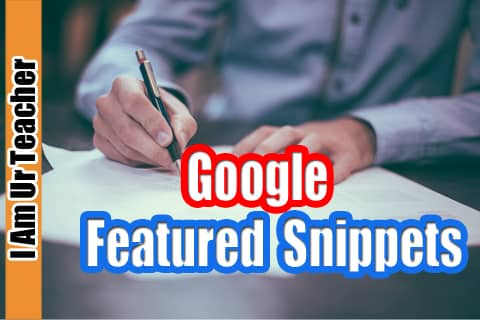How to optimize for Google featured snippets