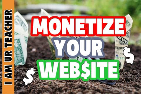 How to monetize your website with website monetization strategies