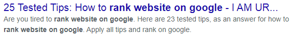 25 tested tips How to rank website