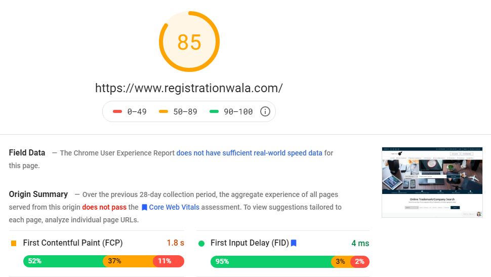 boost website speed to rank on google