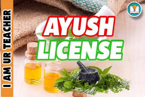 ayush license