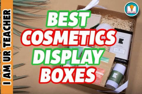 cosmetic display box