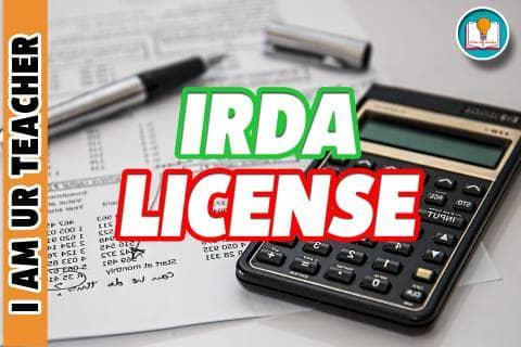 irda license