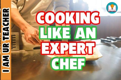 cooking like an expert chef