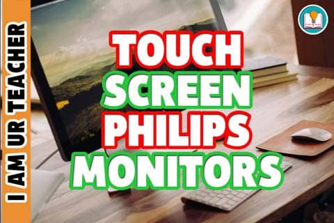touch screen philips monitors