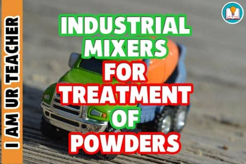 treatment of powders