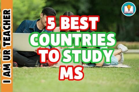 5 countries to study ms abroad