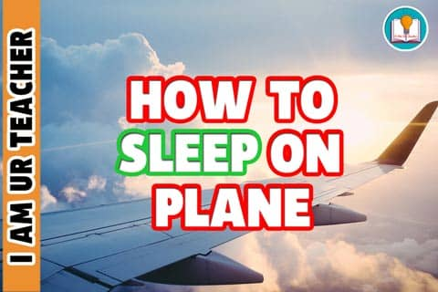 how to sleep on plane